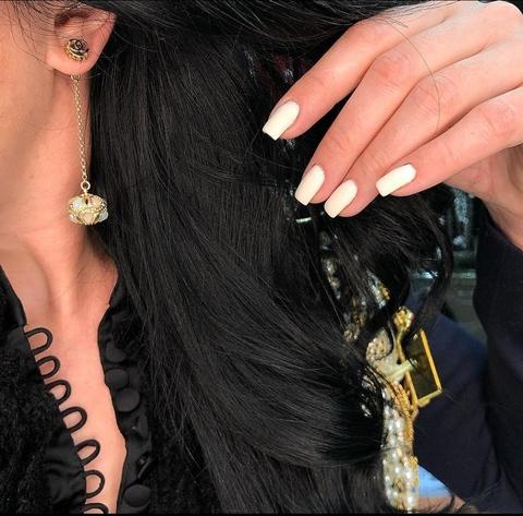 Серьги Chanel Queen