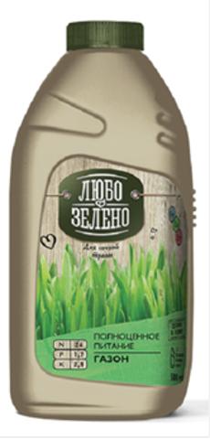 Удобрение Любо-зелено Газон 500мл