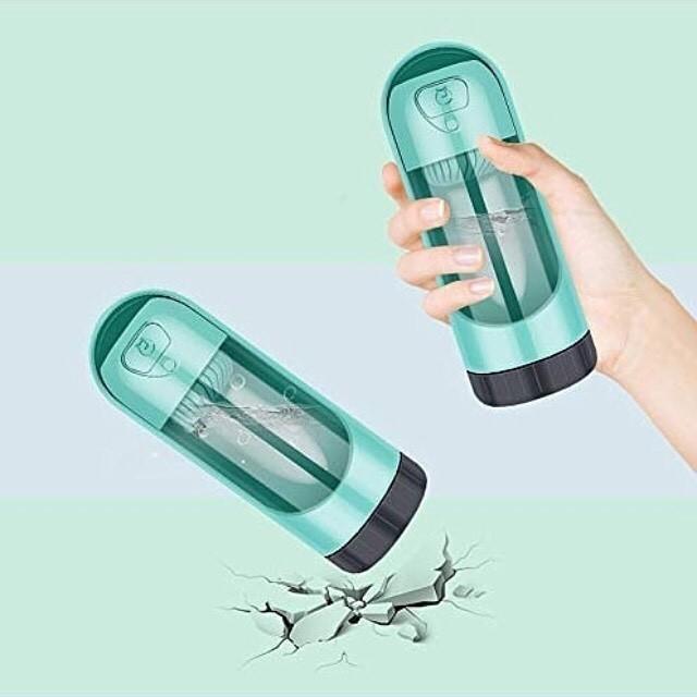 9011 - Дорожная бутылка-поилка для собак с угольным фильтром