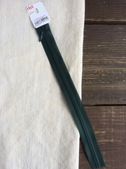 Молния потайная Т3, Riri, 22см, темно-зеленый изумрудный
