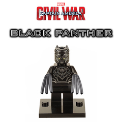 Minifigures Black Panter