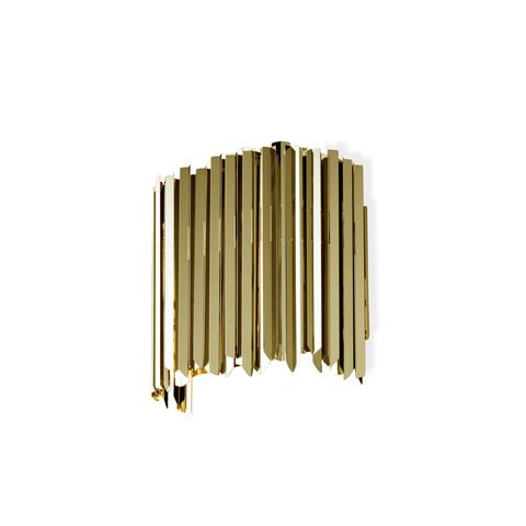 Настенный светильник копия Facet by Innermost (золотой)