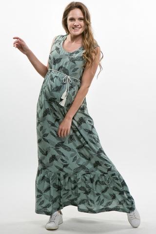 Платье для беременных 10373 перья