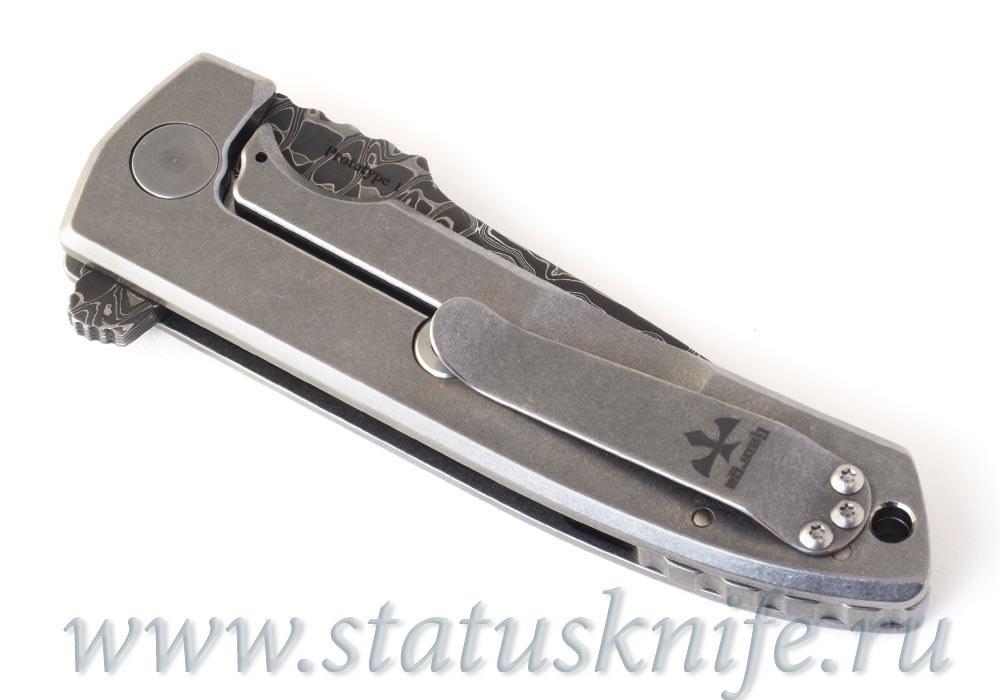 Нож VECP Flipper Prototype #1 Les George - фотография