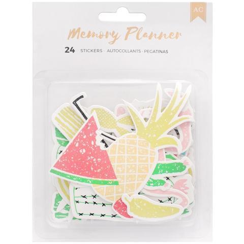 Стикеры American Crafts Memory Planner Ephemera Die-Cut Stickers -9 шт