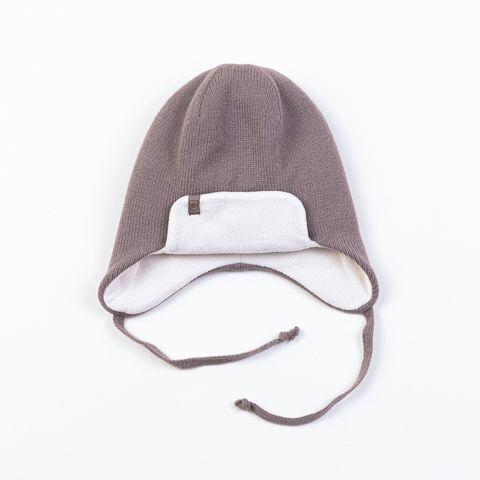 Шапка-ушанка утепленная на флисовой подкладке