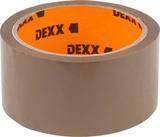DEXX клеящая упаковочная, коричневая, 40мкм, 48...