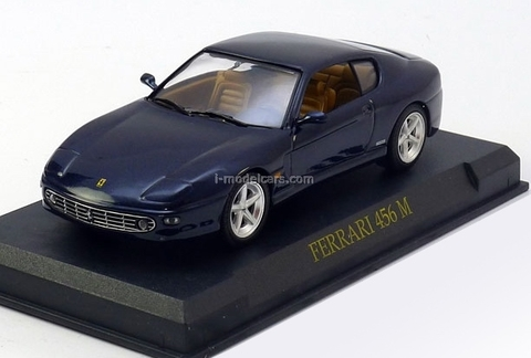 Ferrari 456 M GT dark-blue 1:43 Eaglemoss Ferrari Collection #31