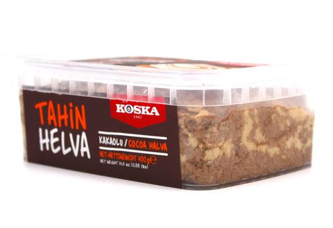 Кунжутная халва с какао, Koska, 400 г