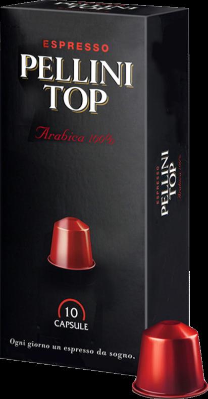Кофе в капсулах Pellini Top 100% Arabica (10 шт.)
