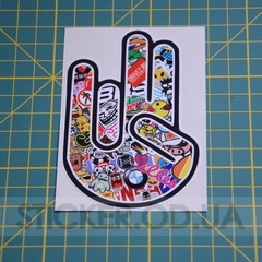 Наклейка, sticker, JDM