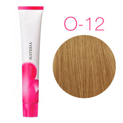 Lebel Materia 3D O-12 (супер блонд оранжевый) - Перманентная низкоаммичная краска для волос