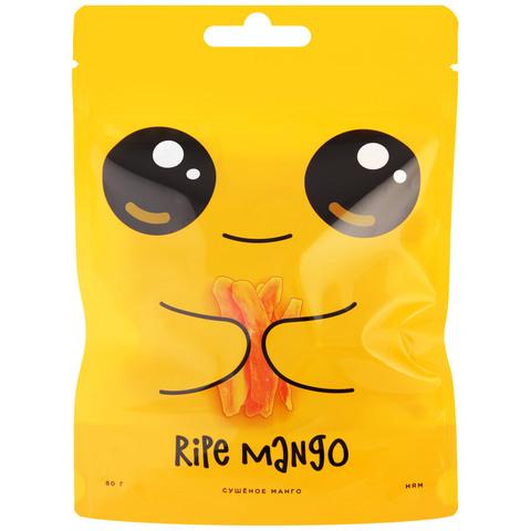 Манго сушеное (без сахара) Ripe Mango, 80г