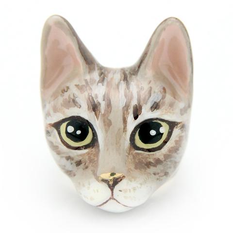 Кольцо Кошка Мокка