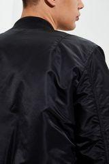 Бомбер Alpha Industries MA-1 Slim Fit Black (Черный/Оранжевый)