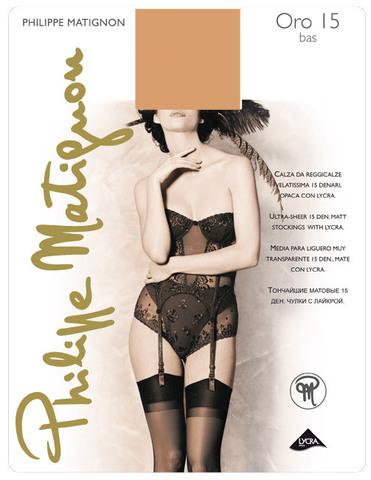 Чулки Philippe Matignon Oro Bas 15