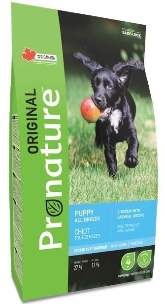 Pronature Корм для щенков всех пород, Pronature Original DOG PUPPY ALL BREEDS, с курицей и овсом Pronature_Original_сухой_корм_для_щенков.jpg