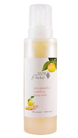 Гель-пенка для душа Розовый грейпфрут, 100% Pure