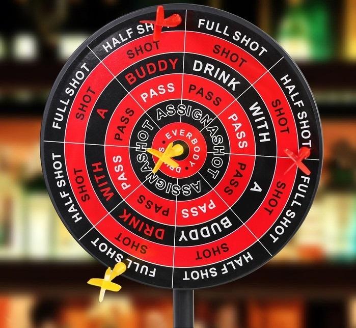 Игра алкогольная «Пьяный дартс»