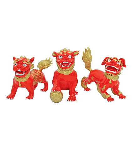 3 Красных собачки