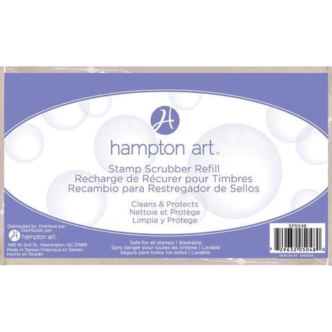 Скрабер-губка  для очистки штампов  Hampton Art Stamp Scrubber Refill Pad