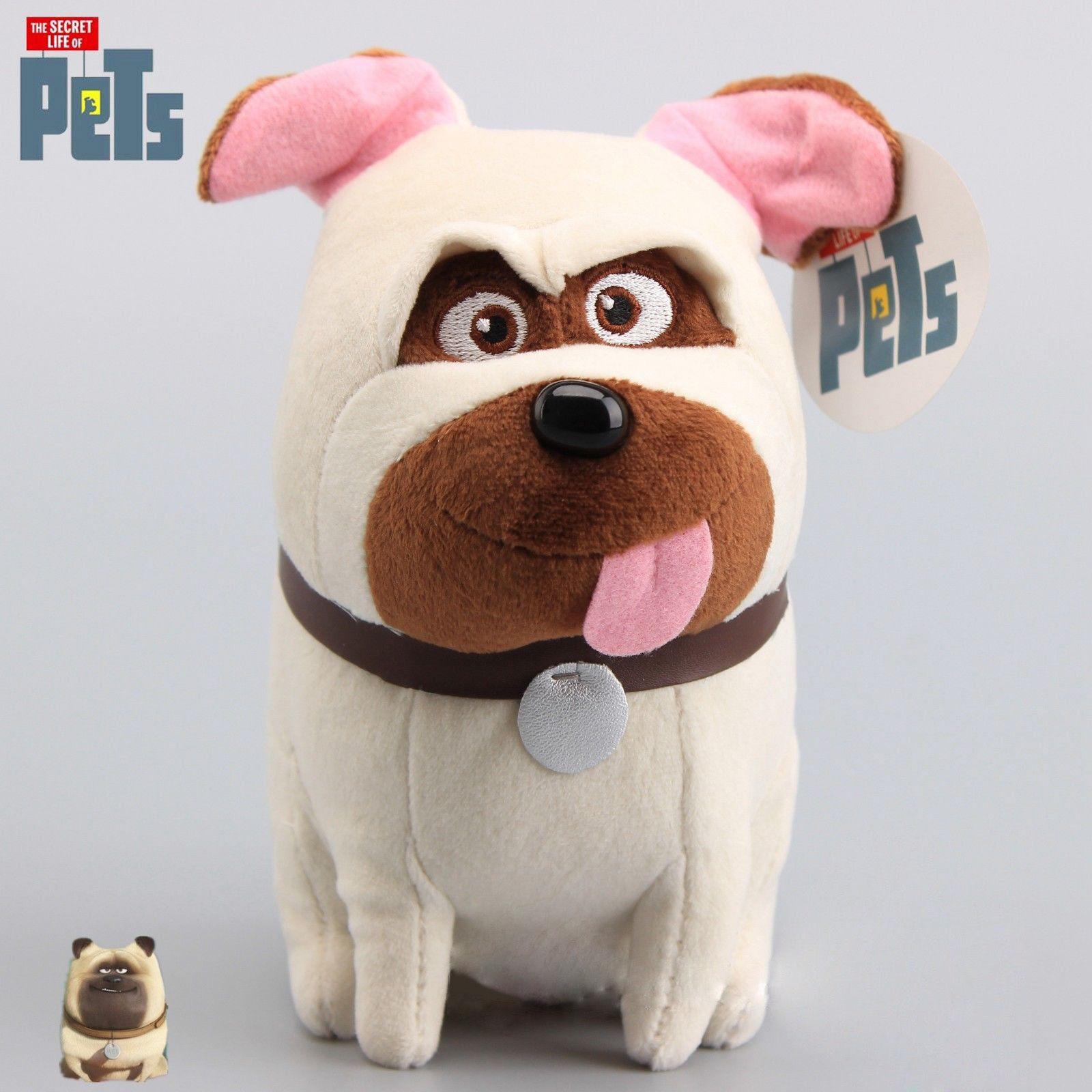 Мягкие игрушки Тайная жизнь домашних животных 20см