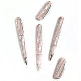Перьевая ручка Visconti Divina Royale Rose роз смола вст крист Свар перо F 14кт (Vs-373-98F)