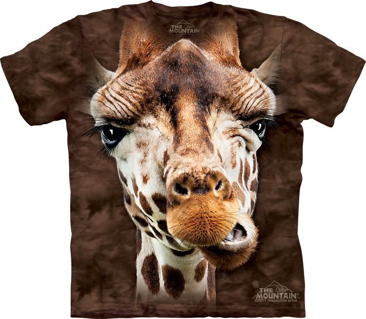 Футболка Mountain с изображением жирафа - Giraffe
