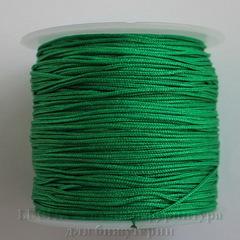 Нейлоновый шнур 1 мм (цвет - зеленый) 35 м