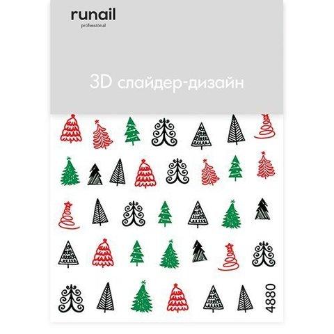 RuNail 3D Слайдер-дизайн №4880
