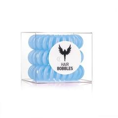 Силиконовая резинка для волос Hair Bobbles  - Голубая