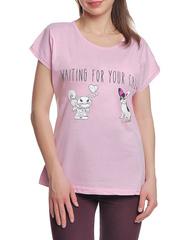 37662-11-1 футболка женская, розовая