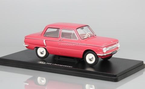 ZAZ-966 Zaporozhets red 1:24 Legendary Soviet cars Hachette #11