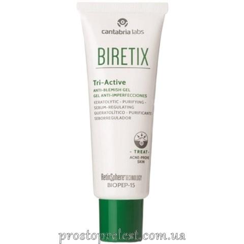 Cantabria Labs Biretix Tri-Active Anti-Blemish Gel - Гель три-актив для кожи с акне