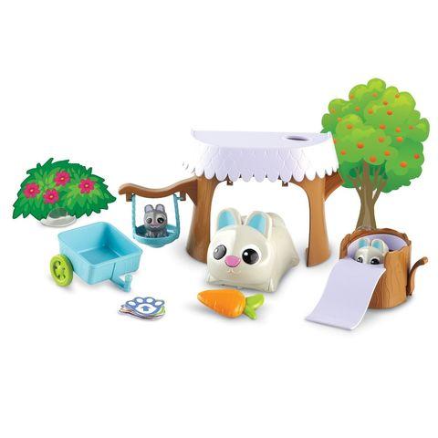 LER3089 Игровой набор РобоКролик Банни с малышами Learning Resources