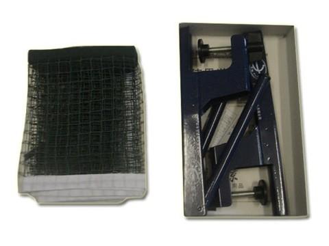 Сетка для н/т , синего цвета (с металлическими стойками в коробке). :(