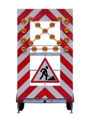 Передвижной заградительный знак FA 1 LR - стандарт