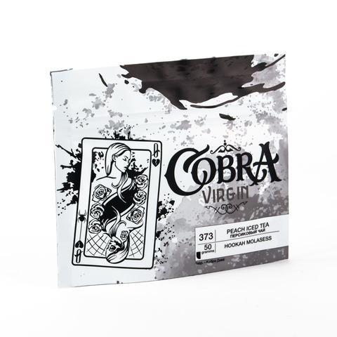 Кальянная смесь Cobra VIRGIN Персиковый Чай (Peach Ice Tea) 50 г