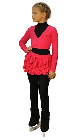 Термокомплект «Бабочка» малиновый (юбка+боди+лосины+болеро+чехлы)
