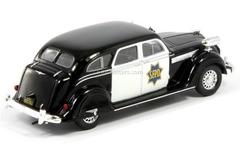 Chrysler Airflow CRS 1936 USA 1:43 DeAgostini World's Police Car #42