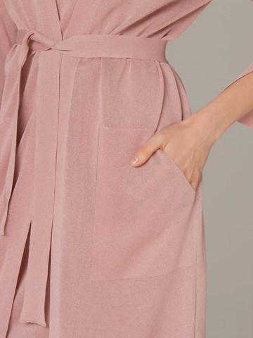 Женский кардиган розового цвета - фото 3