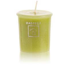 Свеча ароматическая Luz your senses Мята Лимон 4.8см светло-зеленая