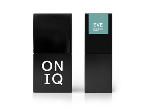 Гель-лак ONIQ Eve 128 - Deep Green Glitter, 10 мл