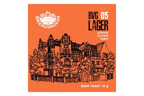 Дрожжи пивные Beervingem Lager BVG-05, 10 г
