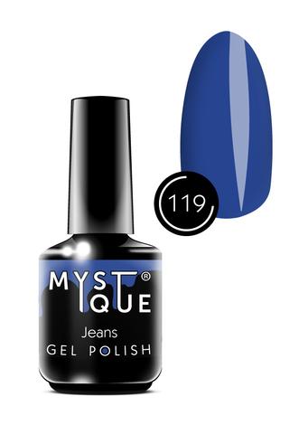 Mystique Гель-лак #119 «Jeans» 15 мл