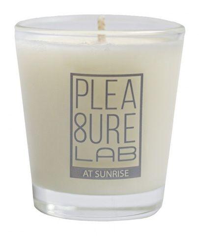 Массажная свеча At Sunrise со сладким ароматом какао - 50 мл.