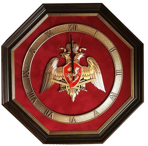 """Часы настенные """"Национальная Гвардия России"""""""