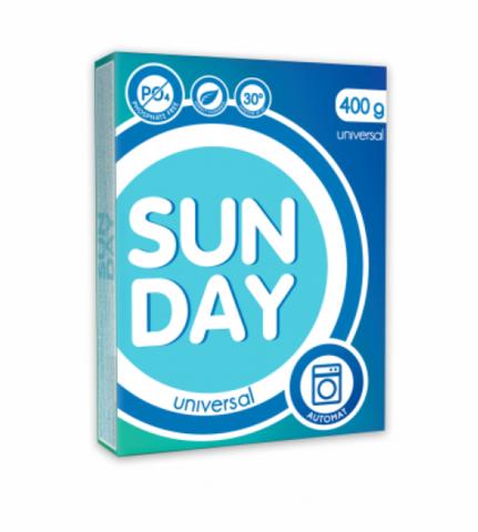 Сонца Sunday Стиральный порошок автомат Универсал 400 г