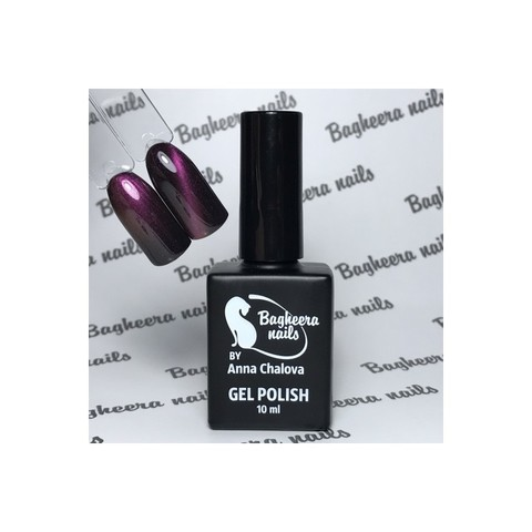Bagheera Nails BN-80 Кошачий глаз 3D розовый гель-лак 10 мл