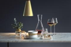 Набор из 2 бокалов для вина и воды Space, 430 мл, золото, фото 2
